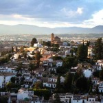 City of Granada from Sacromonte Hills