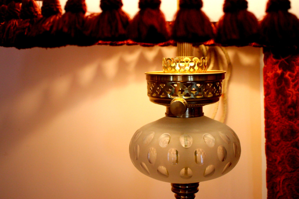 Ornate lampshade