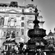 London Kaleidoscope: Postcard memories in black and white…